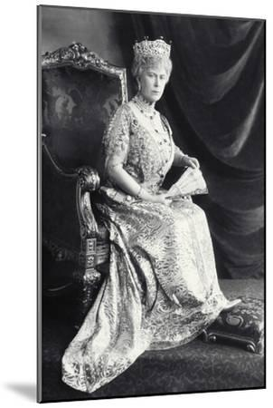 Queen Mary-James Lafayette-Mounted Giclee Print