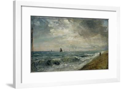 Hove Beach, East Sussex-John Constable-Framed Giclee Print