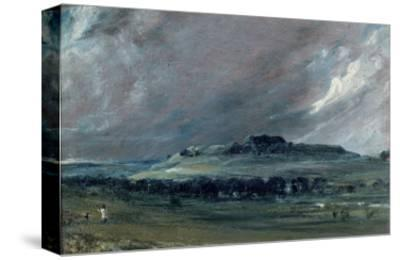 Old Sarum, Wiltshire-John Constable-Stretched Canvas Print