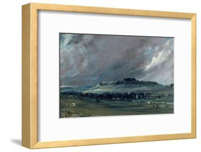 Old Sarum, Wiltshire-John Constable-Framed Giclee Print