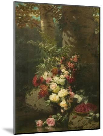 Flowers and Fruit-Jean Baptiste Claude Robie-Mounted Giclee Print