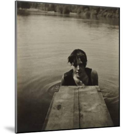 Man in Water-Curtis Moffat-Mounted Giclee Print