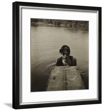 Man in Water-Curtis Moffat-Framed Giclee Print