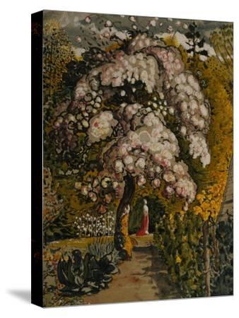 Apple Tree in Blossom In a Shoreham Garden, c.1830-Samuel Palmer-Stretched Canvas Print