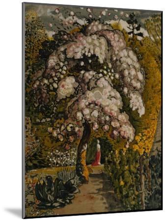 Apple Tree in Blossom In a Shoreham Garden, c.1830-Samuel Palmer-Mounted Giclee Print