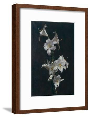 White Lilies, c.1883-Henri Fantin-Latour-Framed Giclee Print