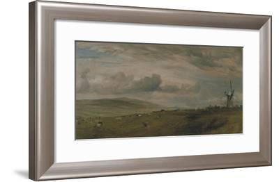 Windmill Near Brighton, East Sussex-John Constable-Framed Giclee Print