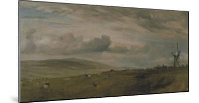 Windmill Near Brighton, East Sussex-John Constable-Mounted Giclee Print