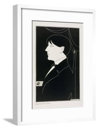 Aubrey Beardsley, 19th Century-Aubrey Beardsley-Framed Giclee Print