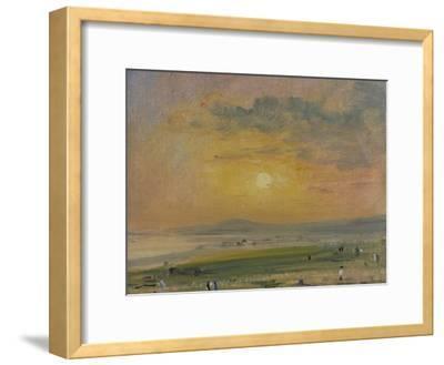 Shoreham Bay, Evening Sunset-John Constable-Framed Giclee Print