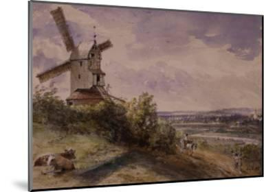 Windmill at Stoke, Near Ipswich-John Constable-Mounted Giclee Print
