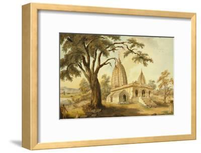 Hindu Temple at Sambatpur in Orissa, India--Framed Giclee Print