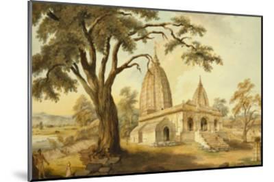 Hindu Temple at Sambatpur in Orissa, India--Mounted Giclee Print