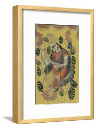 Saraswati, Calcutta, c.1870--Framed Giclee Print