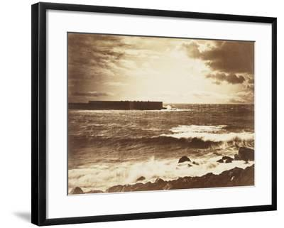 The Great Wave-Gustave Le Gray-Framed Giclee Print