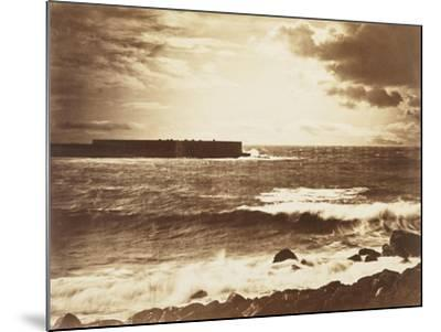 The Great Wave-Gustave Le Gray-Mounted Giclee Print