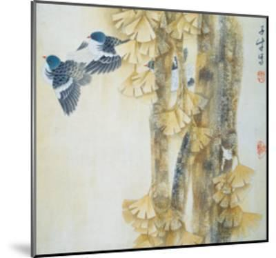 Energetic Rhythm of Autumn-Yuan Mu-Mounted Giclee Print