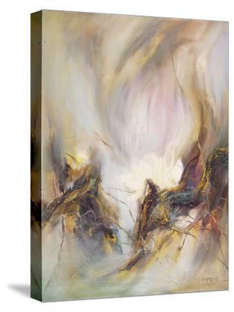 The Rhyme of Lotus, No.3-Yi Xianbin-Stretched Canvas Print