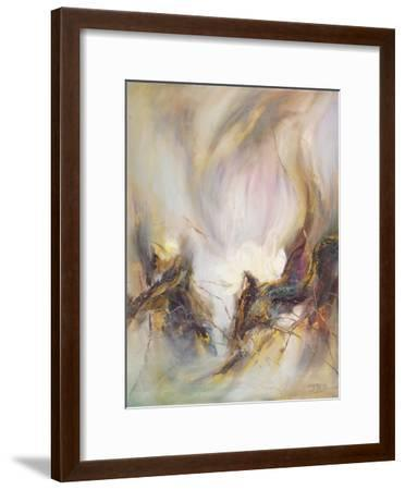 The Rhyme of Lotus, No.3-Yi Xianbin-Framed Giclee Print