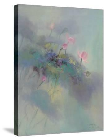 The Rhyme of Lotus, No.5-Yi Xianbin-Stretched Canvas Print