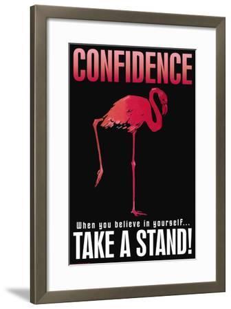 Confidence--Framed Art Print