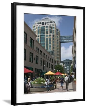 City Center Pedestrian Zone, Downtown Oakland, California-Walter Bibikow-Framed Photographic Print
