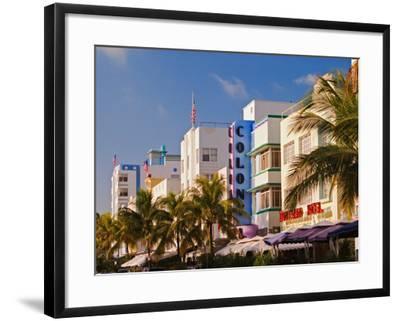 Art Deco District of South Beach, Miami Beach, Florida-Adam Jones-Framed Photographic Print