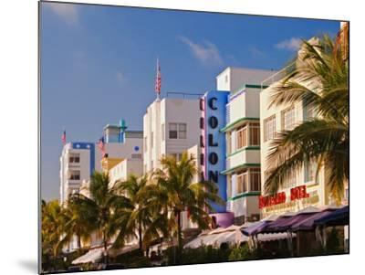 Art Deco District of South Beach, Miami Beach, Florida-Adam Jones-Mounted Photographic Print