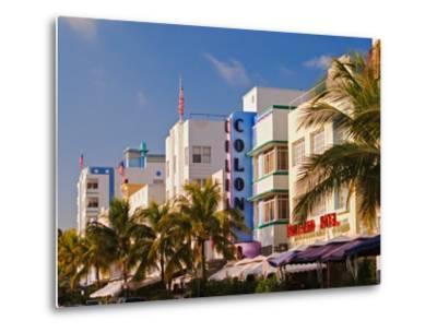Art Deco District of South Beach, Miami Beach, Florida-Adam Jones-Metal Print