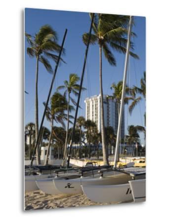 Fort Lauderdale Beach, Fort Lauderdale, Florida-Walter Bibikow-Metal Print