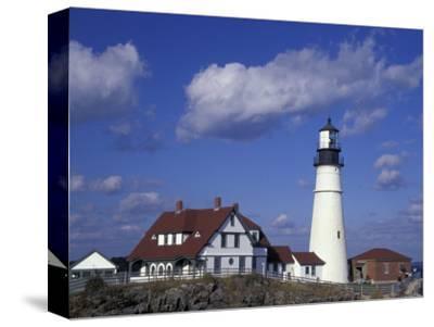 Portland Head Lighthouse, Portland, Maine-Darrell Gulin-Stretched Canvas Print