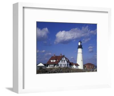 Portland Head Lighthouse, Portland, Maine-Darrell Gulin-Framed Photographic Print