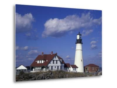 Portland Head Lighthouse, Portland, Maine-Darrell Gulin-Metal Print