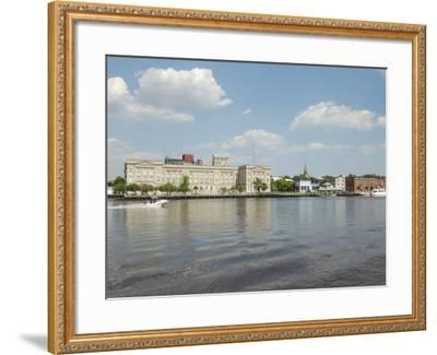 Riverfront Skyline, Wilmington, North Carolina-Lynn Seldon-Framed Photographic Print