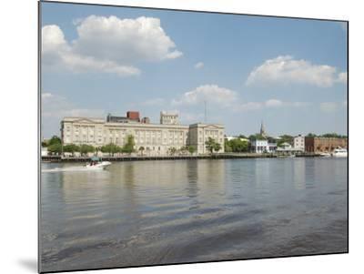 Riverfront Skyline, Wilmington, North Carolina-Lynn Seldon-Mounted Photographic Print