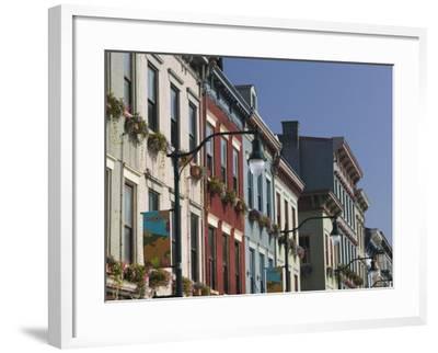 Renovated Buildings by Findlay Market, Cincinnati, Ohio-Walter Bibikow-Framed Photographic Print