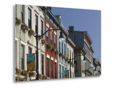 Renovated Buildings by Findlay Market, Cincinnati, Ohio-Walter Bibikow-Metal Print