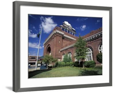 Chattanooga Choo-Choo at the Train Station, Chattanooga, Tennessee-Walter Bibikow-Framed Photographic Print
