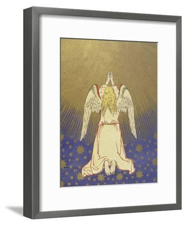 Angel with Arms Raised to Heaven--Framed Giclee Print
