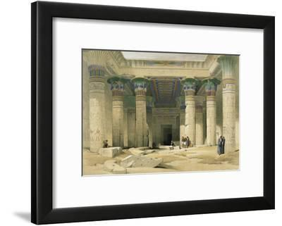 Grand Portico of the Temple of Philae, Nubia-David Roberts-Framed Giclee Print