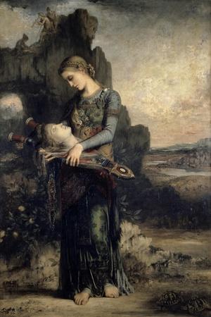 Orpheus, c.1865-Gustave Moreau-Stretched Canvas Print
