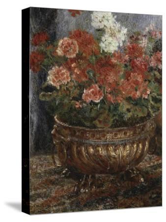 Bouquet of Flowers-Pierre-Auguste Renoir-Stretched Canvas Print