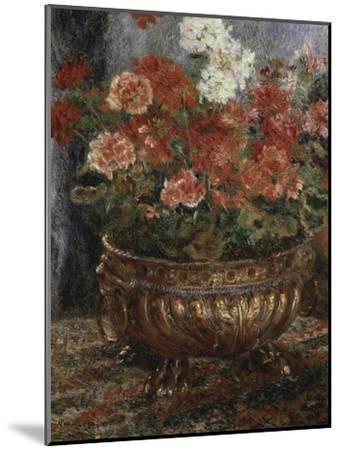 Bouquet of Flowers-Pierre-Auguste Renoir-Mounted Giclee Print