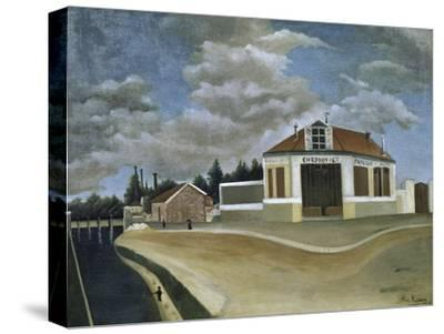 The Chair Factory-Henri Rousseau-Stretched Canvas Print
