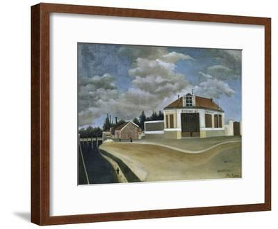 The Chair Factory-Henri Rousseau-Framed Giclee Print