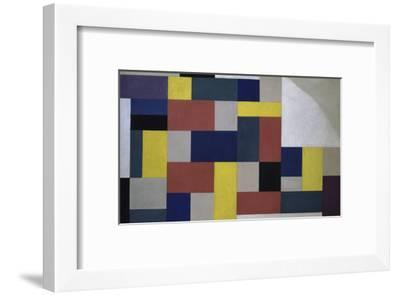 Composition, c.1920-Theo Van Doesburg-Framed Giclee Print