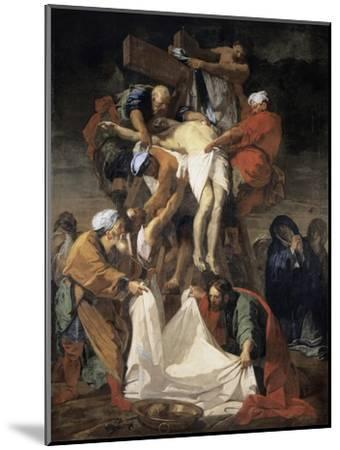 The Descent from the Cross-Jean-Baptiste Jouvenet-Mounted Giclee Print