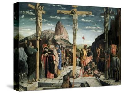 Calvary, c.1457-60-Andrea Mantegna-Stretched Canvas Print