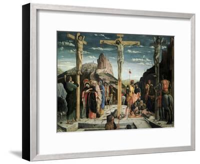Calvary, c.1457-60-Andrea Mantegna-Framed Giclee Print