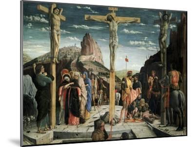 Calvary, c.1457-60-Andrea Mantegna-Mounted Giclee Print